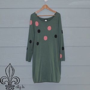 💚NWOT Venus Green sweater dress💚